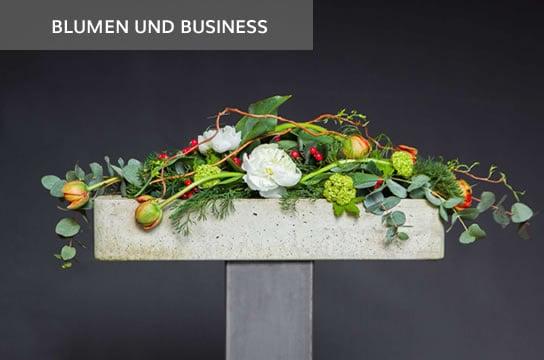 Blumengesteck für Business Räume und Events